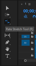 Rate Stretch tool